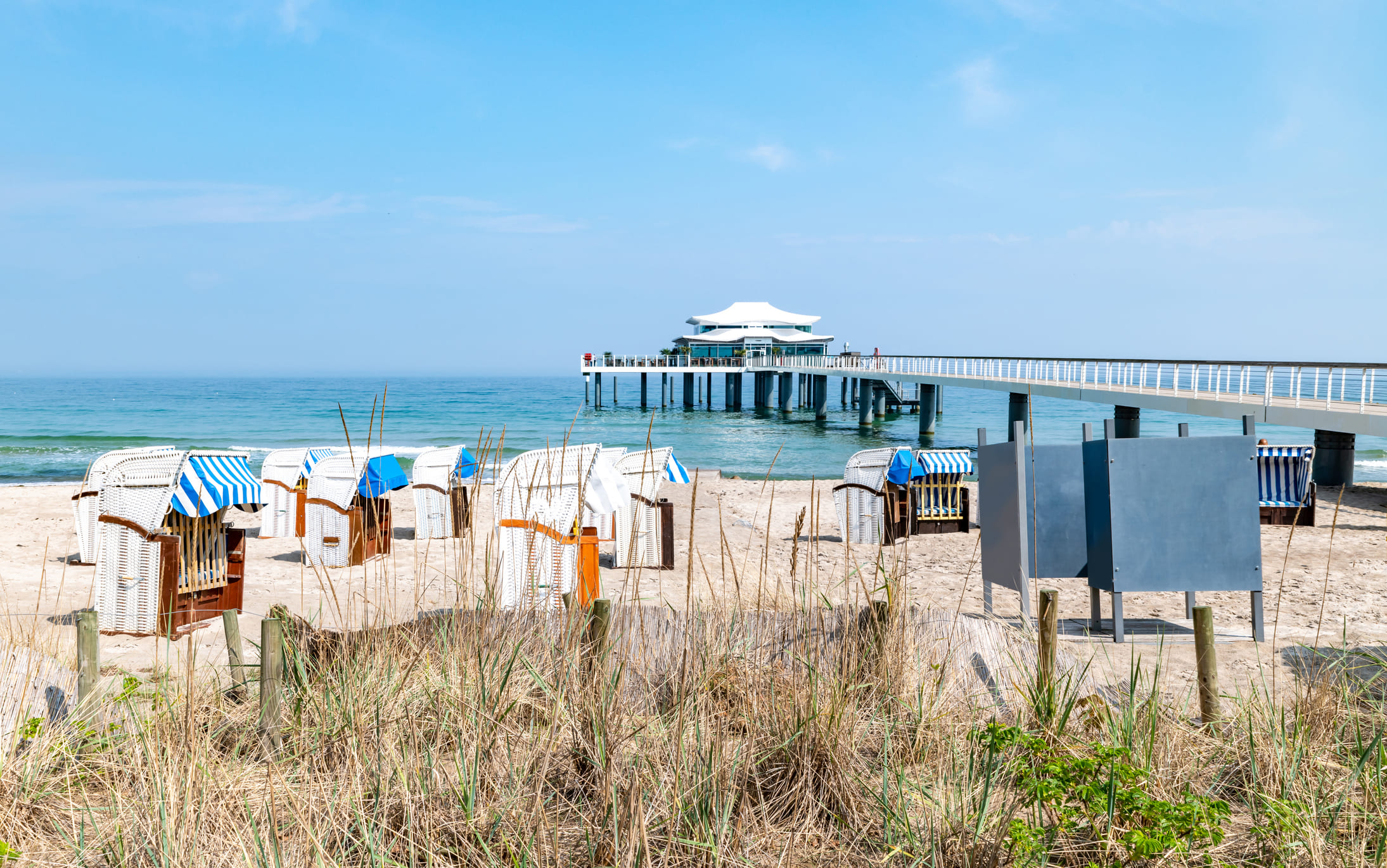 Timmendorfer Strand an der Ostsee