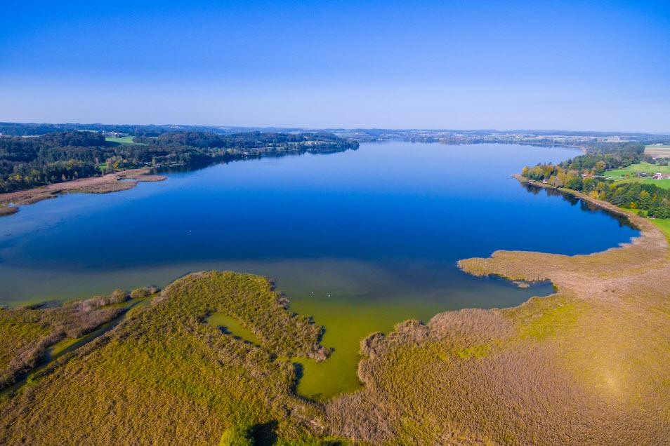 Landschaftsaufnahme Waginger See